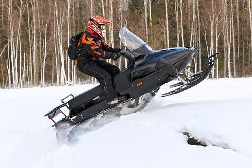 Четырехтактные снегоходы Ямаха