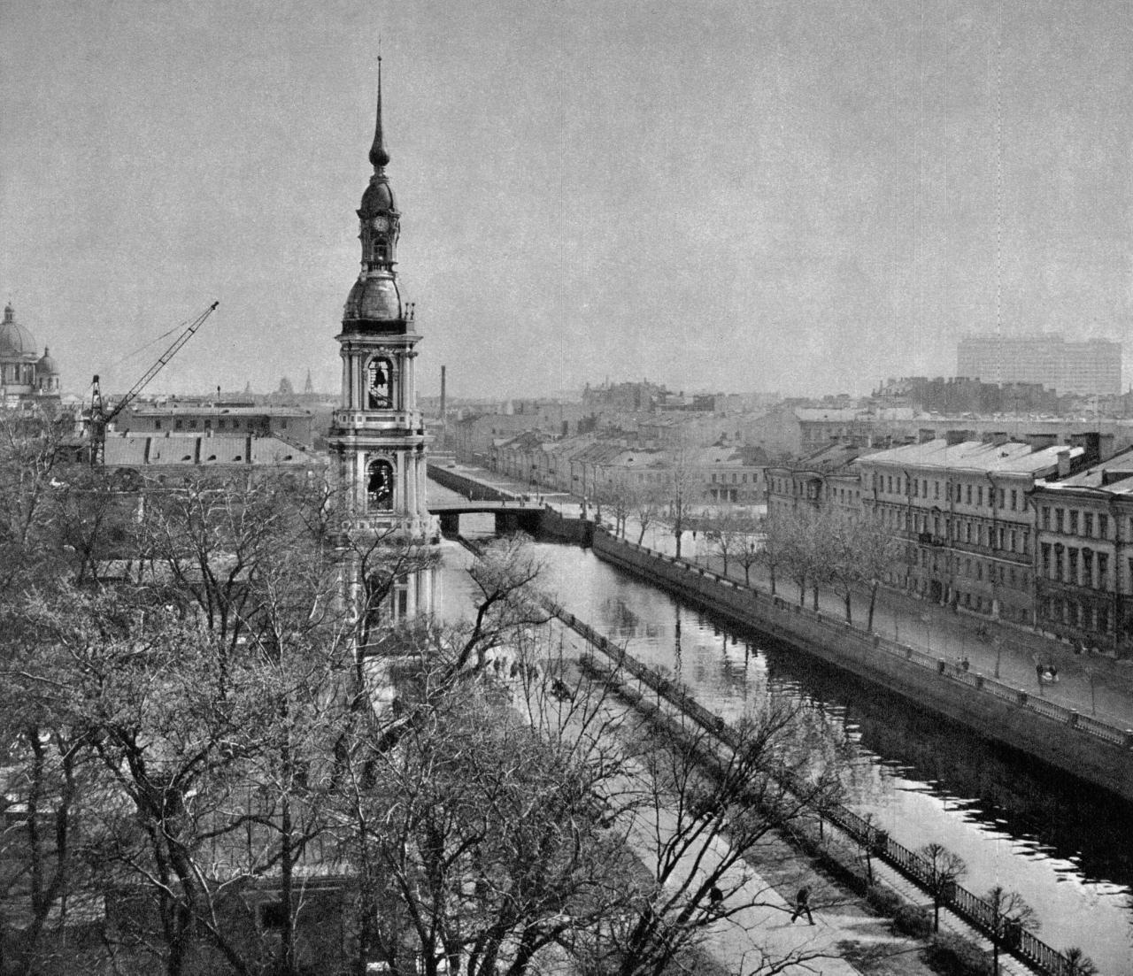 Крюков канал у Никольского собора / Kriukov Canal near St. Nicholas's Cathedral