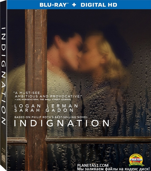 Возмущение / Indignation (2016/BDRip/HDRip)