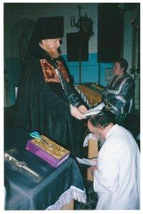 Монашеский постриг отца Серафима.