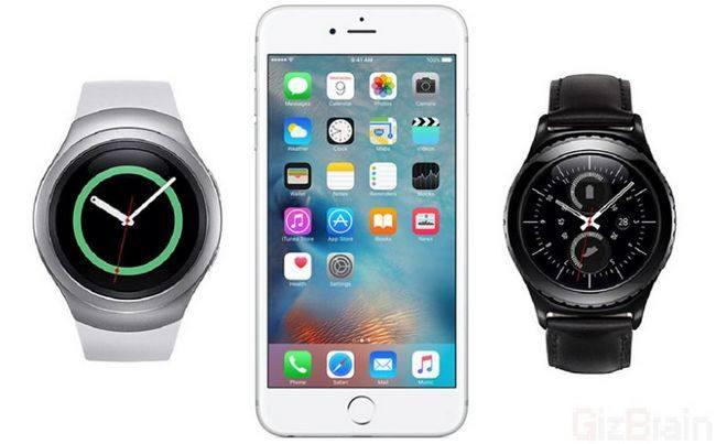 Поддержка iOS будет добавлена в Samsung Gear S2 и Gear Fit 2 в ближайшее время