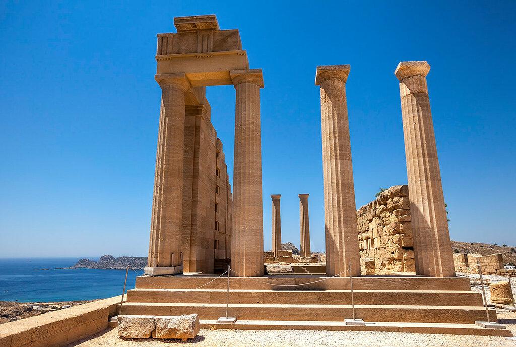 Храм Афины Линды...
