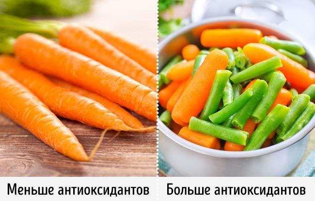 © gdolgikh / depositphotos.com  © tycoon / depositphotos.com  Оказывается, вареные овощи
