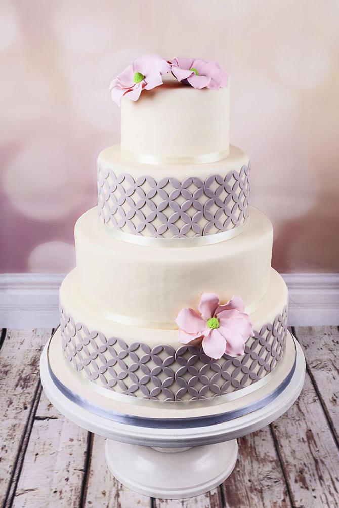 Великолепные свадебные торты