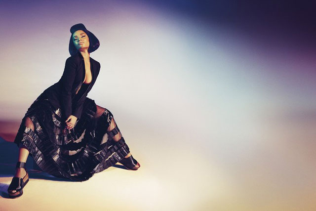 Ники Минаж в рекламной кампании Roberto Cavalli