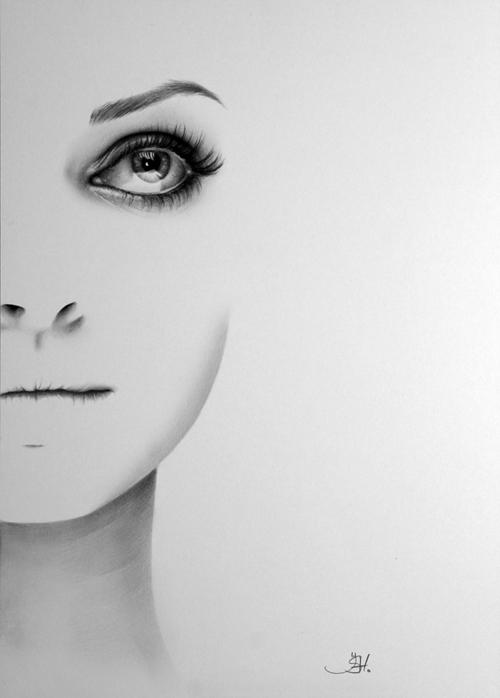Карандашные рисунки Ileana Hunter