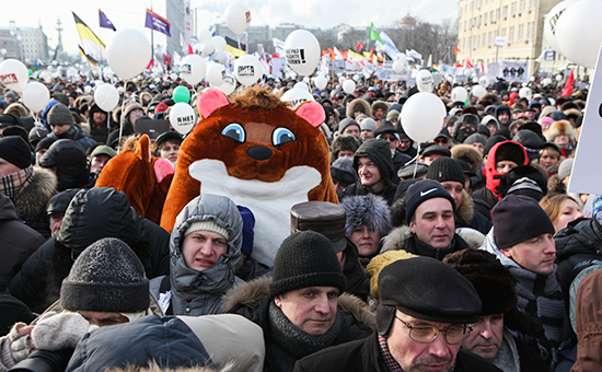 Всё меньше граждан России верят вакции протеста— Опрос