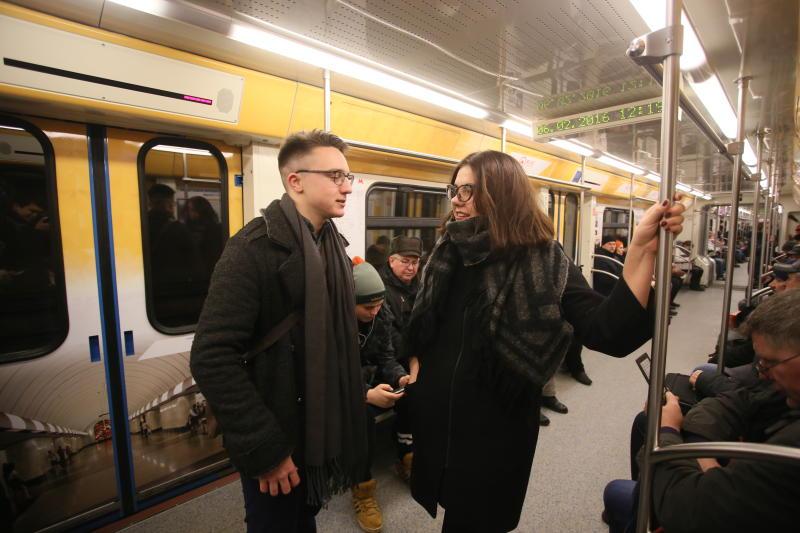 Вфеврале наТаганско-Краснопресненскую линию метро выйдет поезд нового поколения