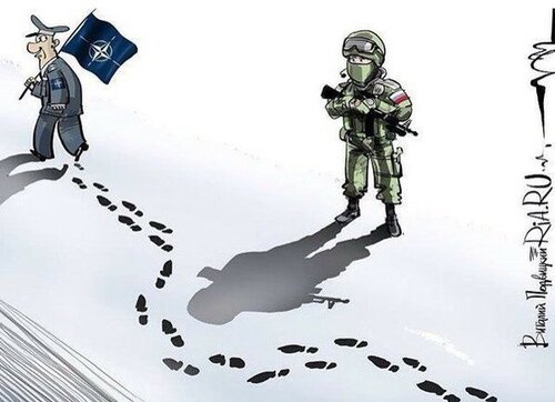 Россия и Запад: Политика в картинках #20