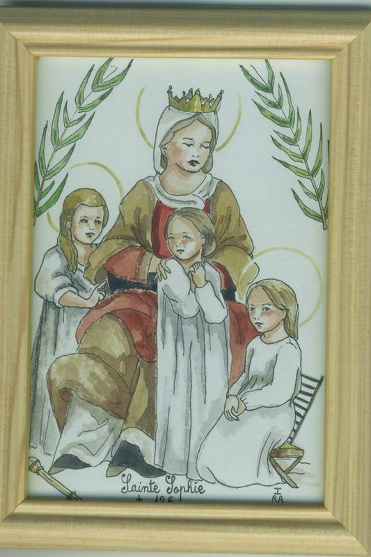 Святая София и ее дети