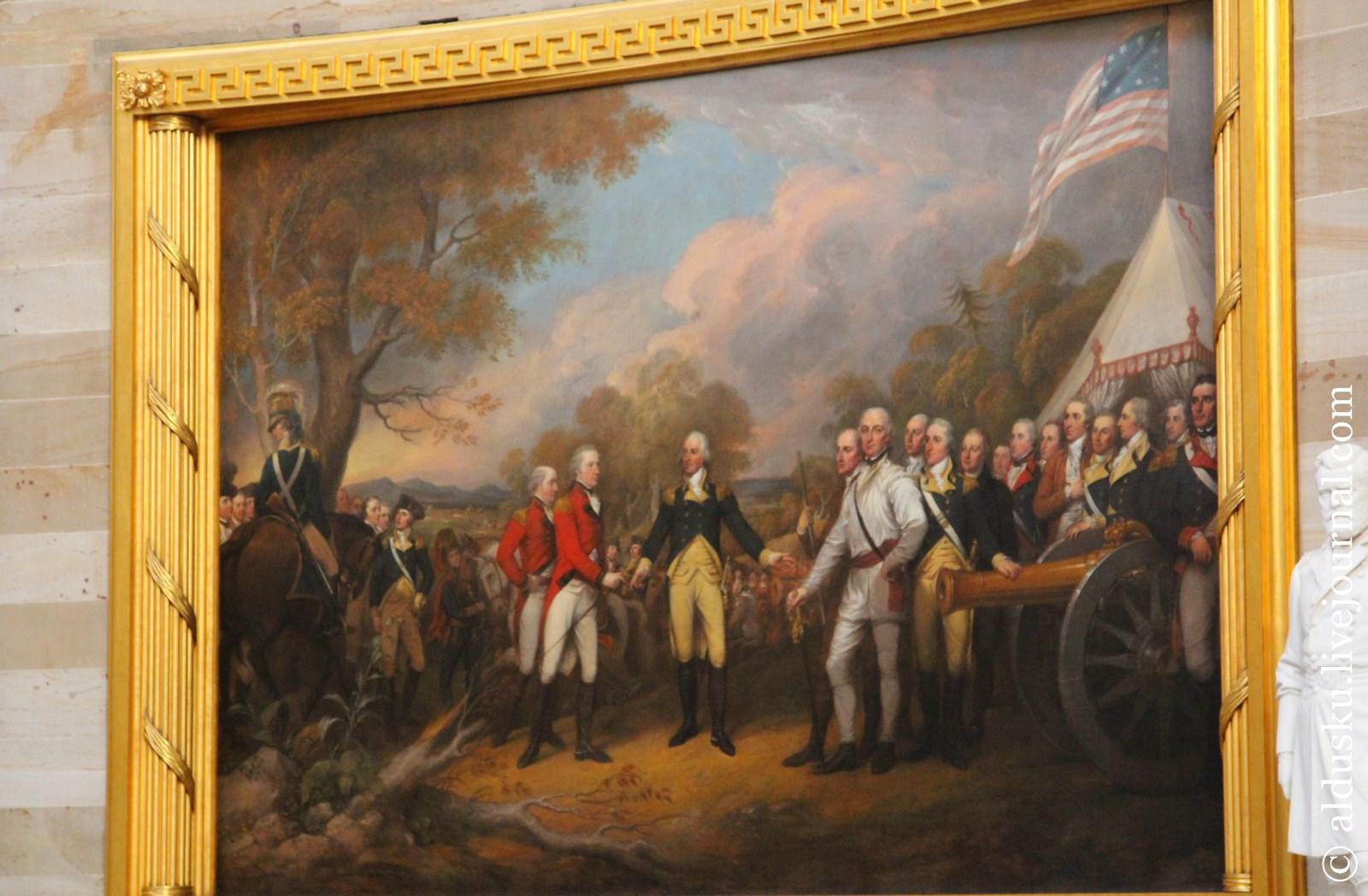 Джон Трумбалл (John Trumbull 1756–1843) Сдача генерала Бергойна 1822