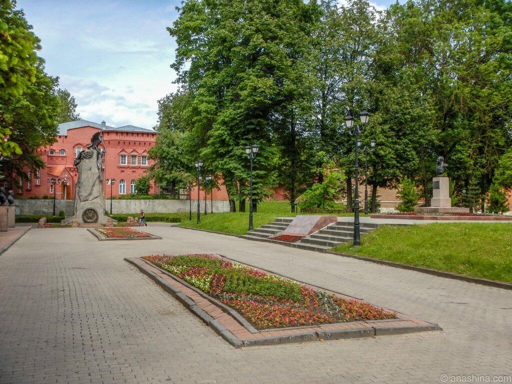 Сквер Памяти героев, Смоленск