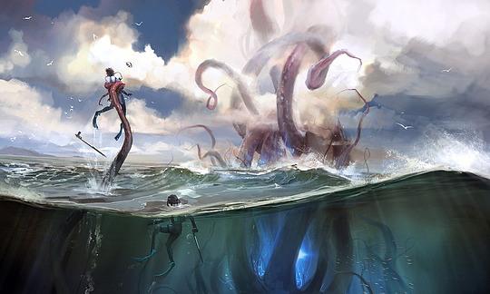 Amazing Digital Illustrations by AdamsBrenoch