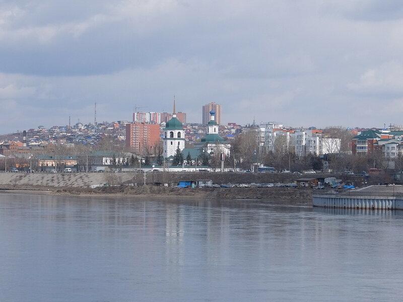 Иркутск - Вид на Знаменский собор