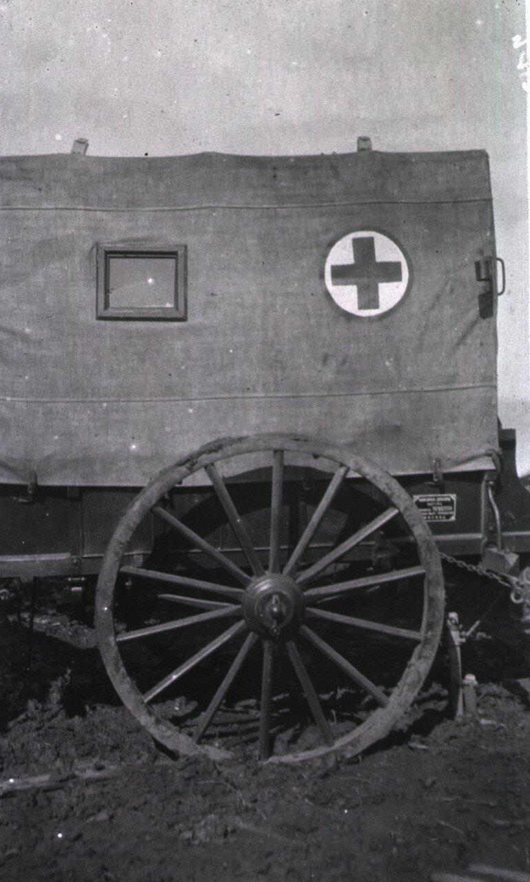 Московский санитарный фургон в Гангалине