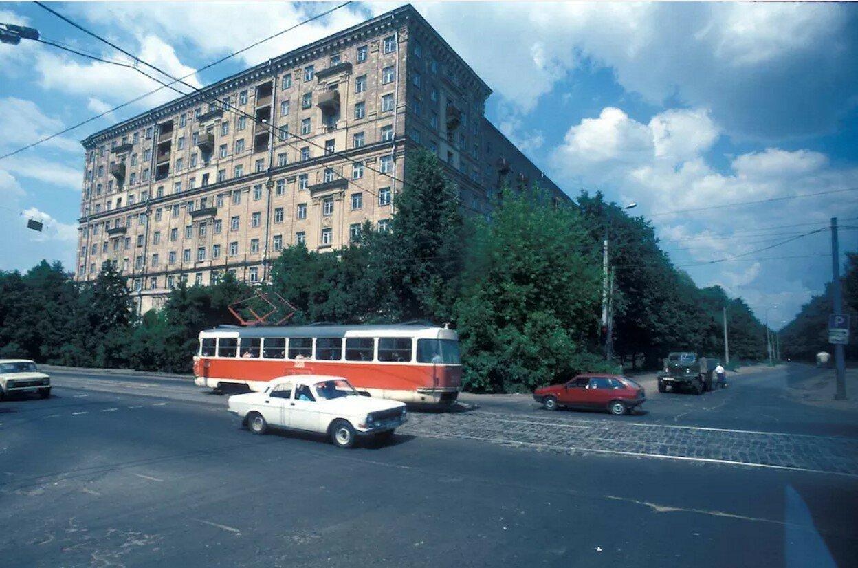 Москва. Щербаковская улица и Окружной проезд