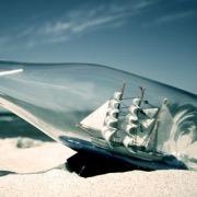 Кораблик в бутылке