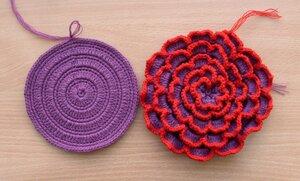 сумочка-цветок