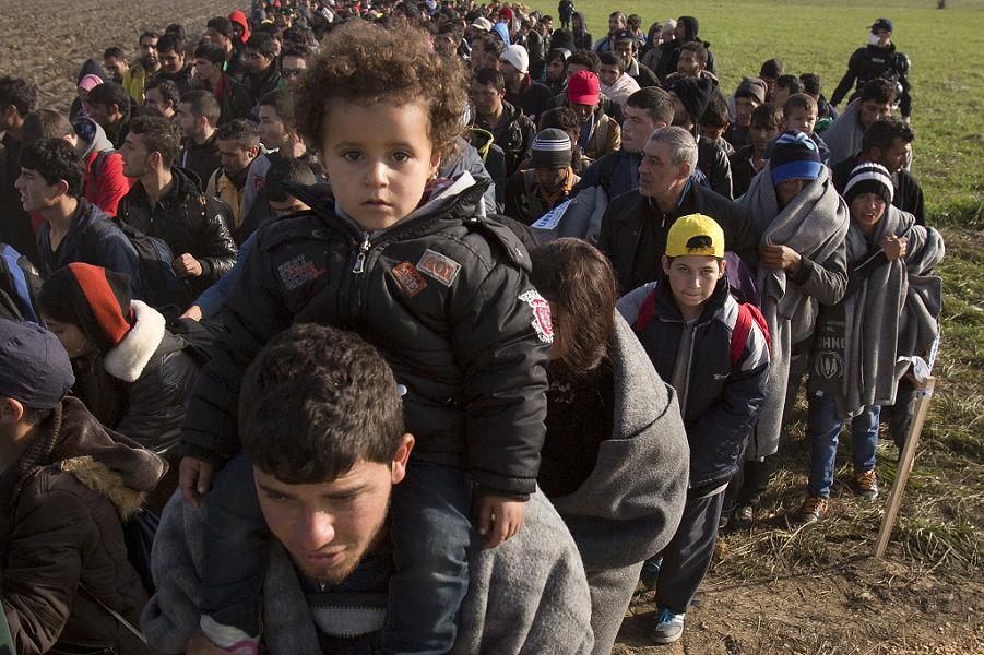 Беженцы-мигранты их арабских стран.png