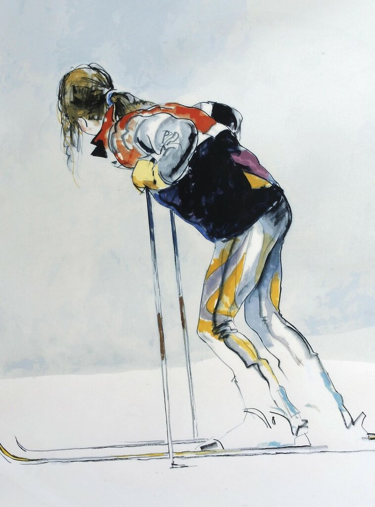 Skier Resting, 1996.jpeg