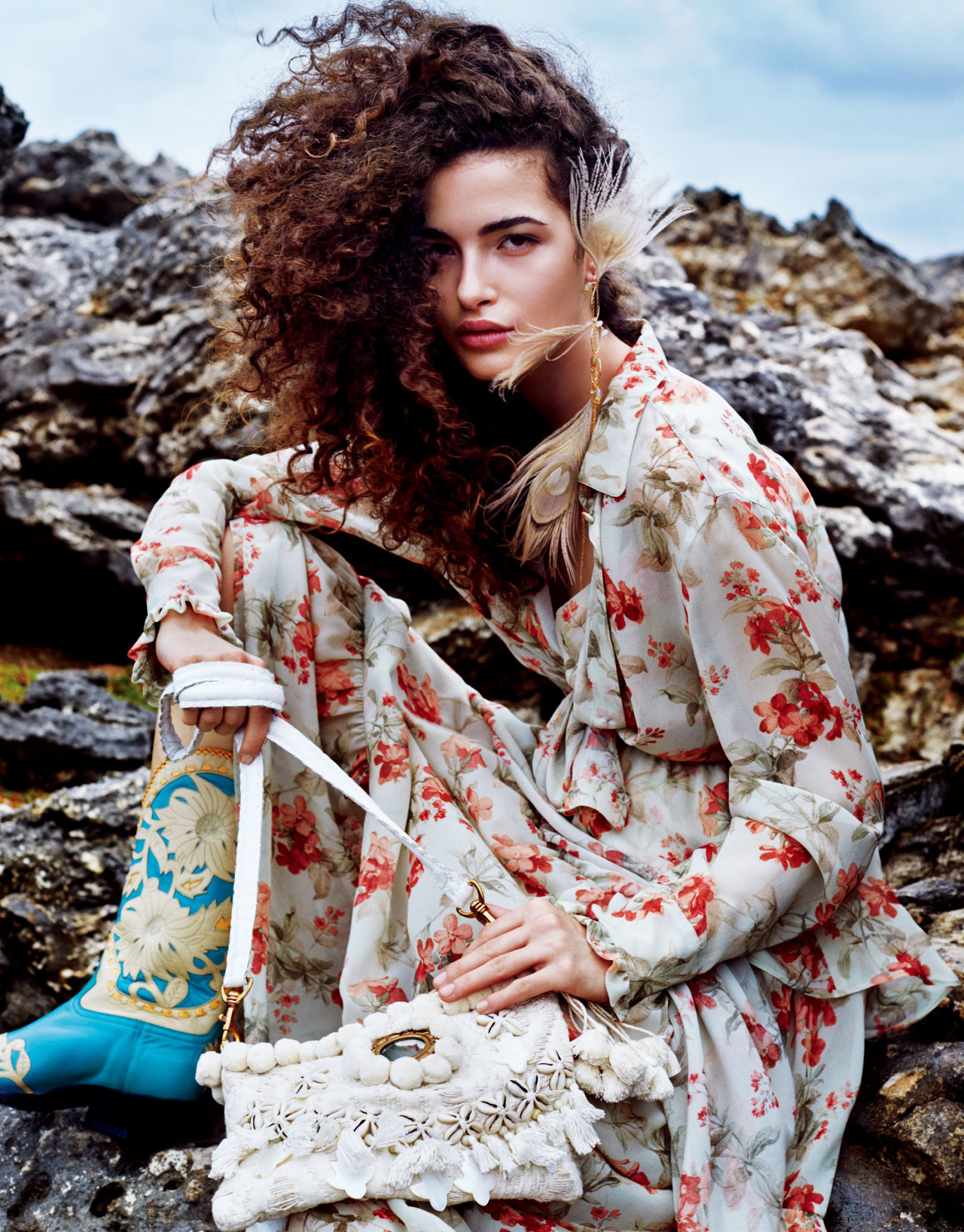 The Romance Of Barbados | Vogue Japan August 2016 | Chiara Scelsi Victor Demarchelier