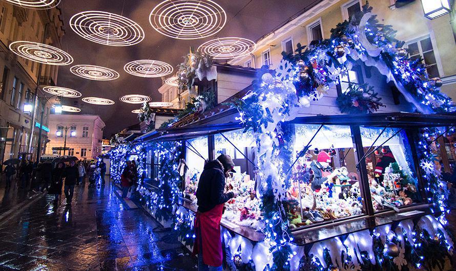 Зимние фестивали в столице России посетили неменее 7-ми млн человек