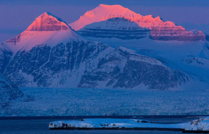 Полярный архипелаг Шпицберген (18 фото)