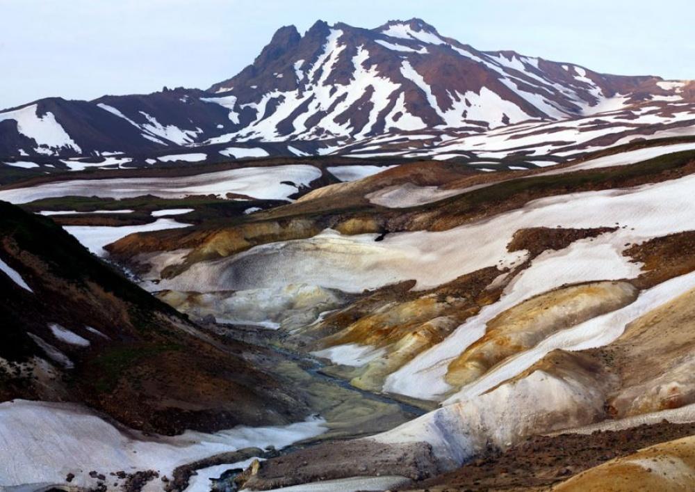 Есть своя Долина смерти ивРоссии— наКамчатке. Расположена она рядом сознаменитой Долиной гейзер