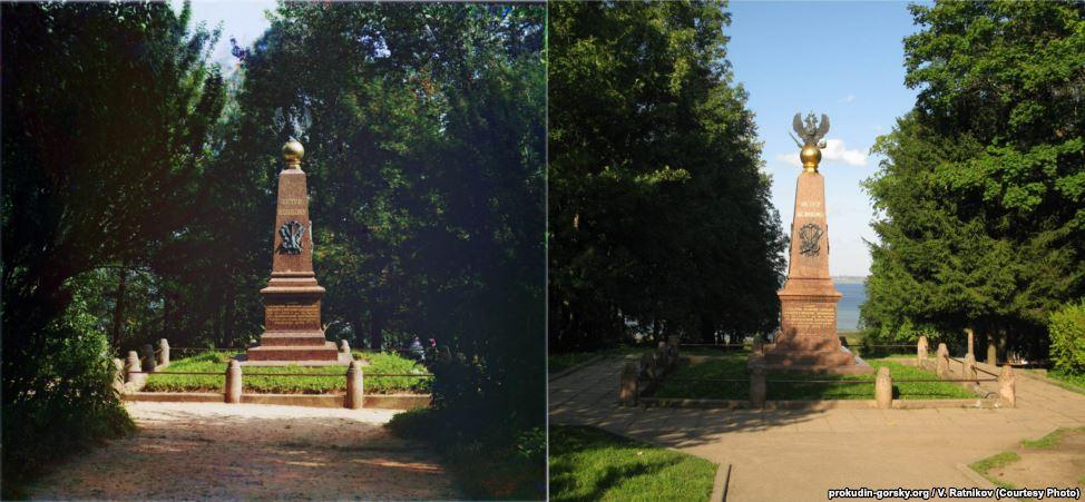 Монумент Петру Великому, Весково, 1911/2008. Фото: В. Ратников.