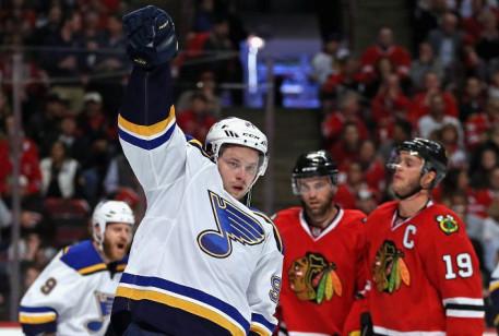 Никита Кучеров— лидер вснайперской гонке плей-офф НХЛ