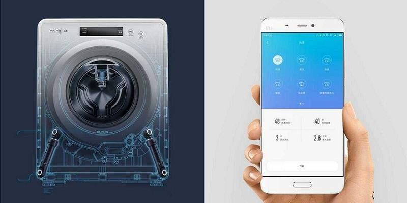 Xiaomi выпустила компактную смарт-стиральную машину Minij