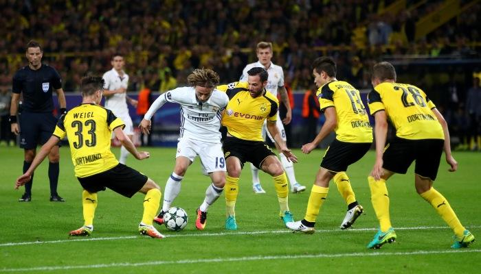 «Реал» неудержал победу вДортмунде— Лига чемпионов