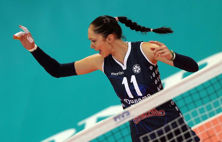 Казанское «Динамо» выведет изобращения 11-й номер волейболистки Гамовой