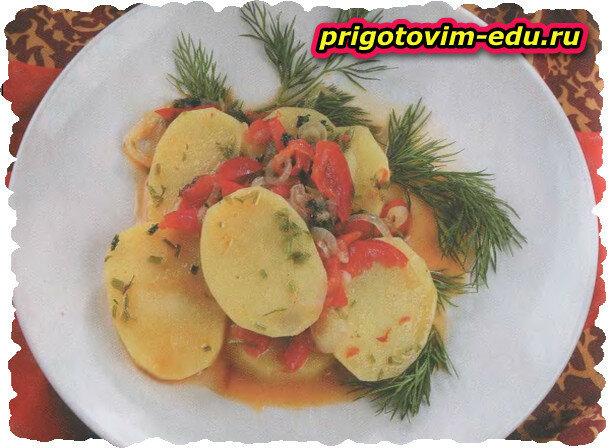 Необычная жаренная картошка