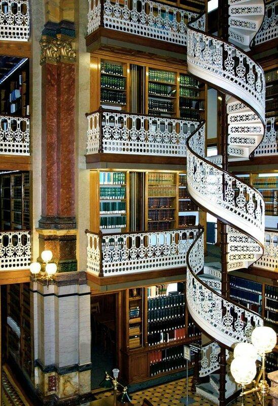 Библиотека Стейт Ло, Айова, США.