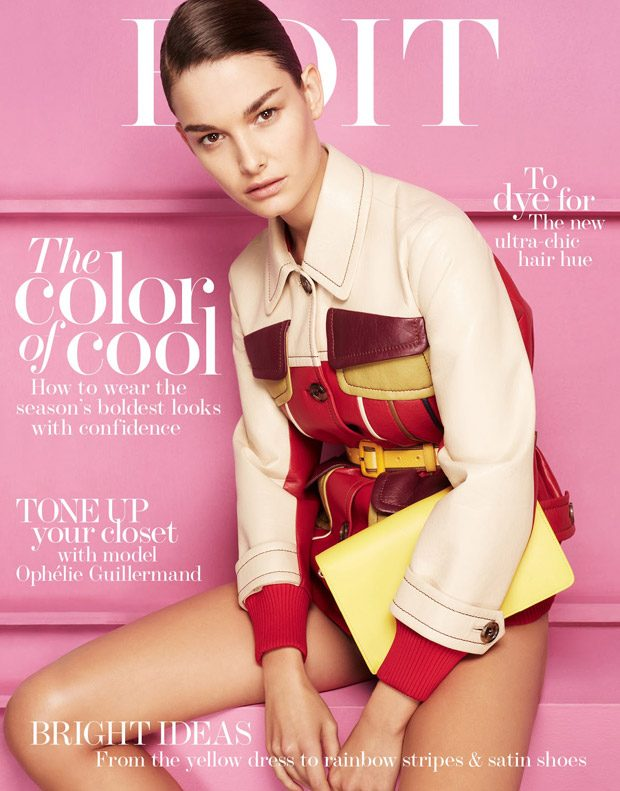 Ophelie Guillermand Models SS17 Looks for The Edit Magazine Cover Story (8 pics)