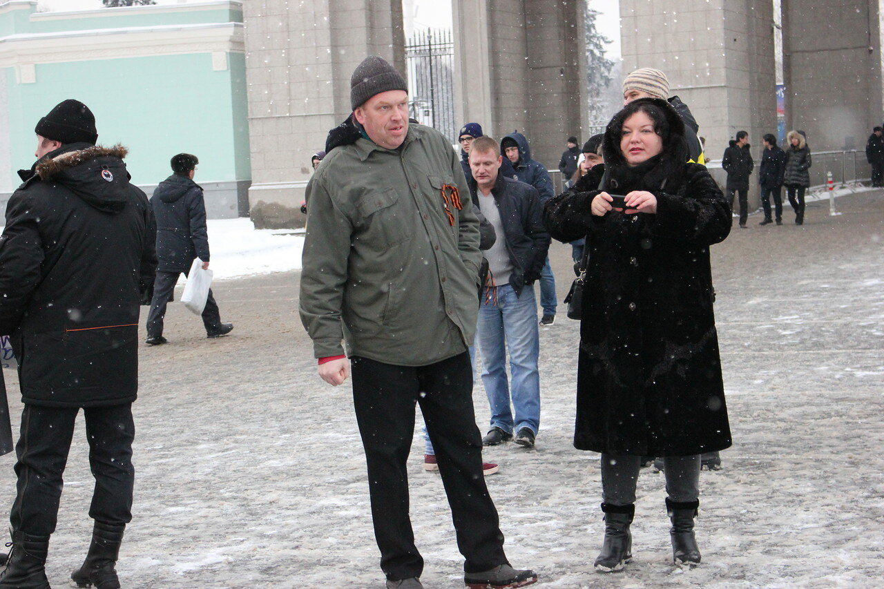 За Путина, водку и черно-оранжевую ленту