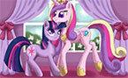 Принцесса Каденс Кристаллы Полет (Princess Candes)
