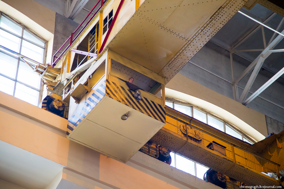 Монтаж рабочего колеса гидроагрегата №7 на Жигулёвской ГЭС 0_11234f_92fdd0ea_orig