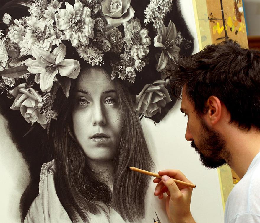 Os desenhos hiper-realistas de Emanuele Dascanio