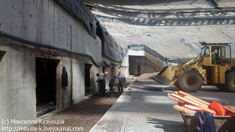 Строительство Зенит-Арены