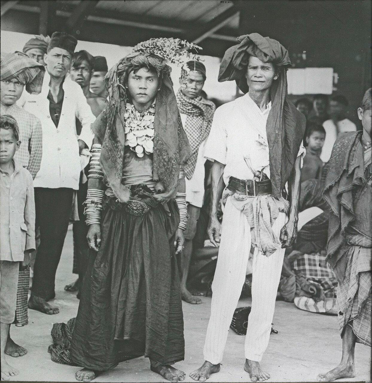 Свадьба представителей народности каро