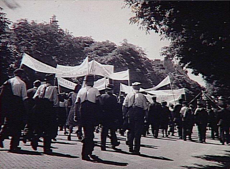 1936. Демонстрация Народного Фронта