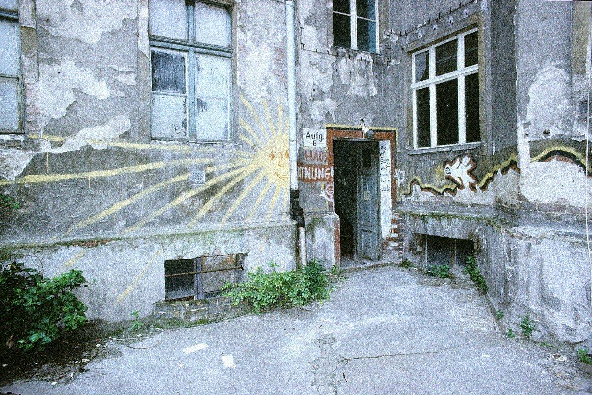 Берлинский дворик. Брюнненштрассе