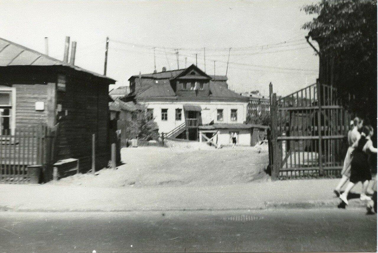 1960-е. Малая Семёновская улица