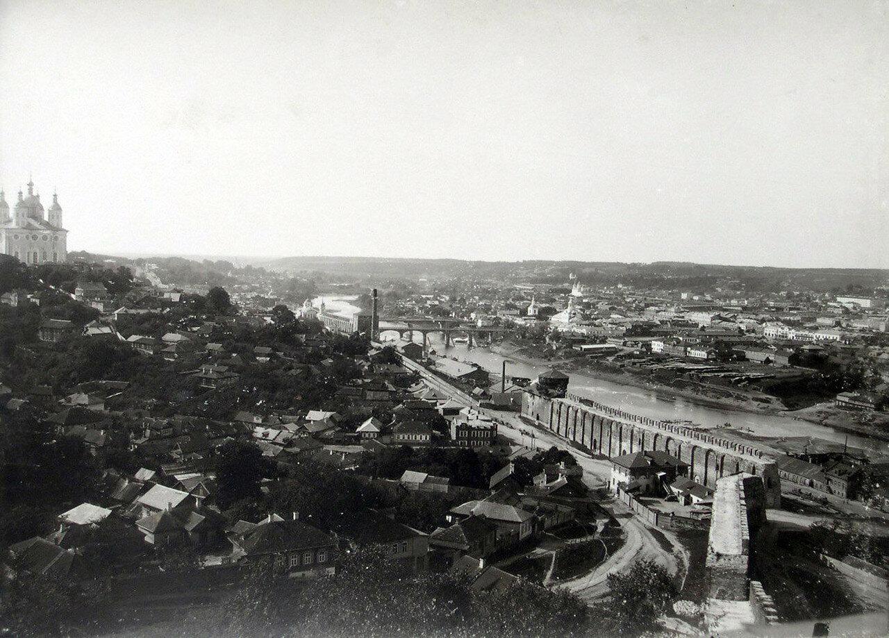 Вид города с башни Веселуха. 1901
