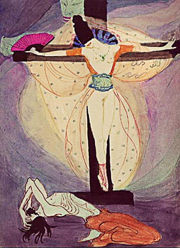 Woman at the Cross, 1908 Jeanne Mammen (1890-1976)