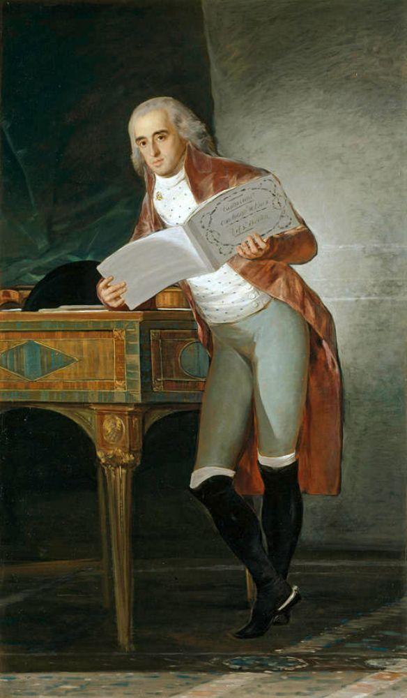 Гойя. Герцог Альба. 1795г. За год до смерти.