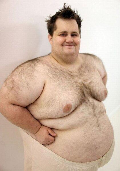 толстый волосатый мужик картинки