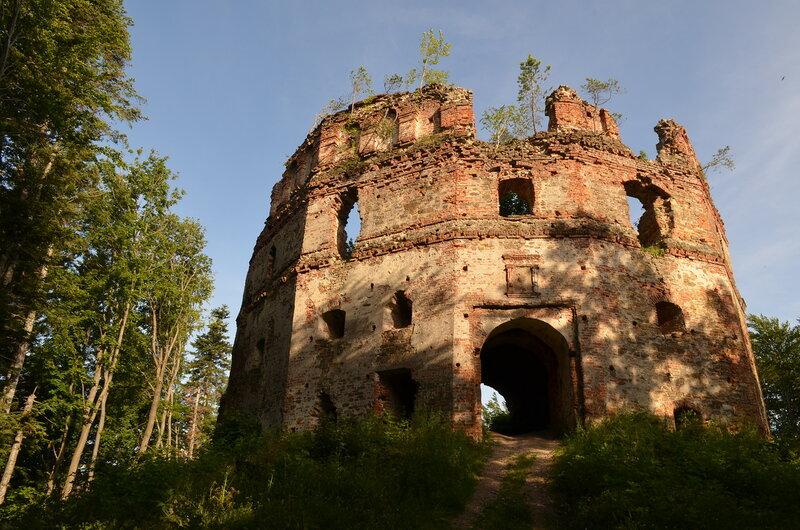 Добромыль: замок Гербуртов